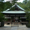 The Haiden Of Shiramine-jingū