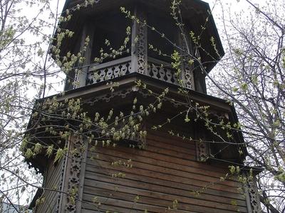 Temporary Wooden Belltower