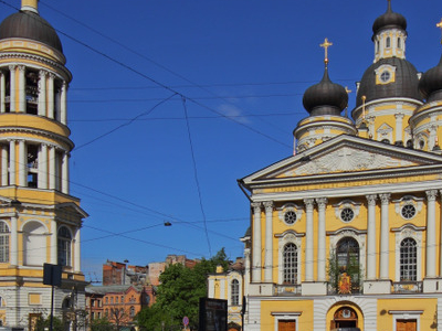 Vladimirsky Avenue Takes Its Name From The Church