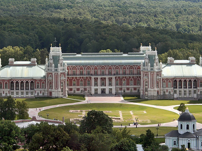 The Main Palace In Tsaritsyno