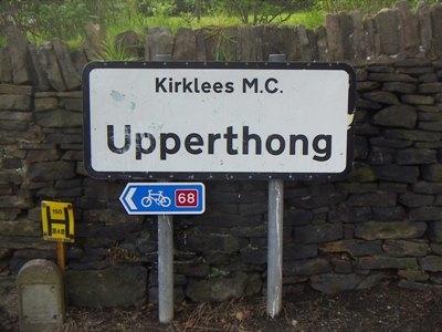 Upperthong Lane And Broad Lane