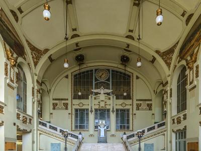 The Elaborate Art Nouveau Interior
