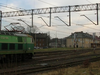 The Main Railway Station In Police