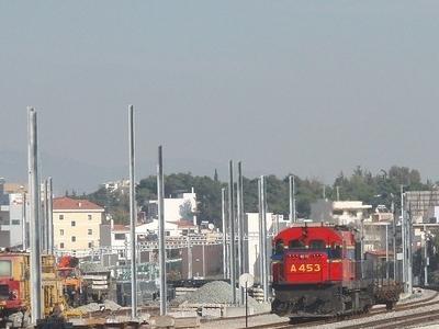 Work In Progress At Acharnai Railway Center