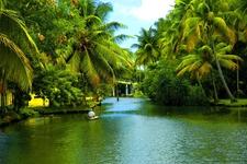 Backwaters Of Alappuzha In Kerala1