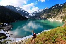 Blanca Lake Washington State Henry M Jackson Wilderness Area Usa D