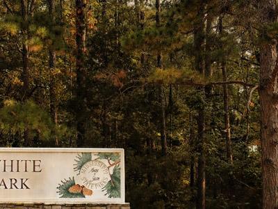 Hugh White State Park Sign