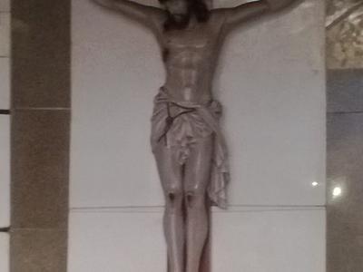 Large  Crucifix At  Pilar  2 C  Goa