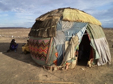 Gabbra Hut In Chalbi Desert Kenya