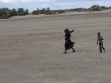 North Horr In Chalbi Desert Lake Turkana Kenya