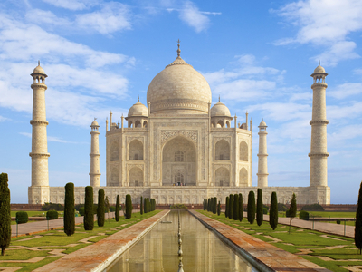 Taj Mahal Agra Uttar Pradesh India Wallpaper
