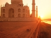 Taj Mahal Morning Sunrise Hd Wallpapers Images Pics