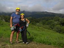 Climbing Costa Rica Brenda & Christopher
