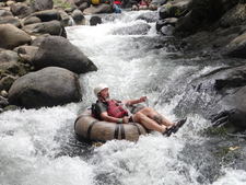 White Water Tubing Costa Rica Christopher