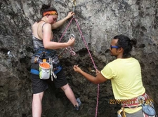 Rock Climbing Course Railay Beach Krabi Thailand