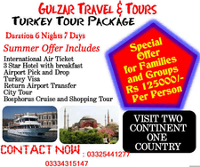 Turkey Honeymoon Packages From Pakistan