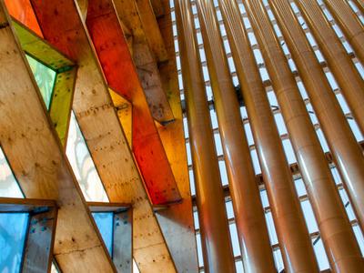 Cardboard Wood And Glass