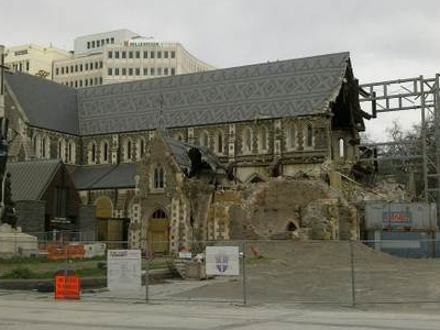 Christ Church Cathedral Partial Demolition