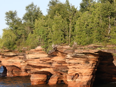 Devils  Island  Seacaves  Lake  Superior
