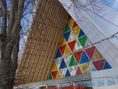 The Cardboard Cathedral In July13 Opening