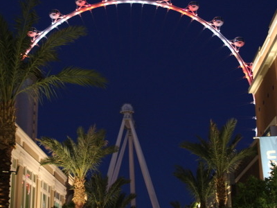 The  High  Roller  View  From The Linq