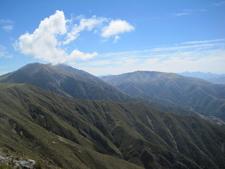 View Of Mt Peel From Little Mt Peel N Z
