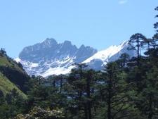 Bhutan High Trekking Mountain
