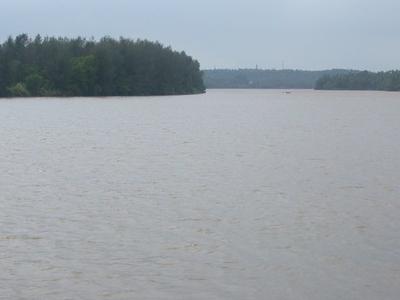 A View Of Payaswini River From Pulikunnu, Kasaragod Town
