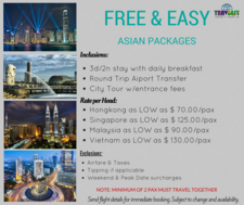 Free Easy Asian Packages 2015