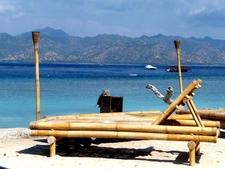 Gili Trawangan Looking Toward Lombok