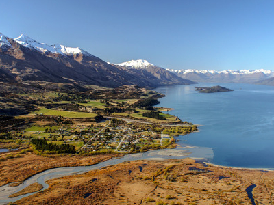 Glenorchy At The  Head Of  Lake  Wakatipu