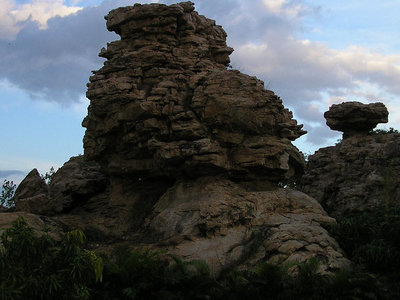 Orvakal  Rock  Formations