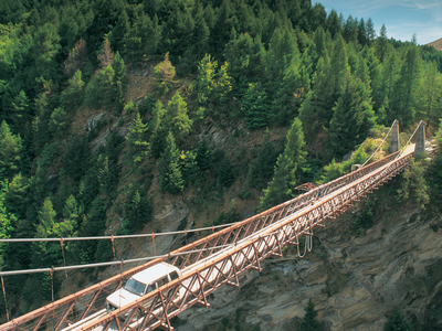 Skippers  Bridge In Skippers  Canyon