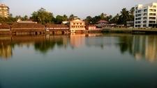 A View Of Padinjarechira Pond