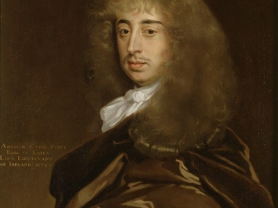 Sir Peter Lely's Portrait Of Arthur Capell