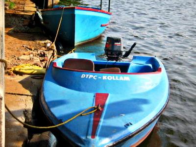 Kollam DTPC Boat Yard In Adventure Park
