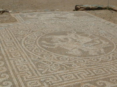 Mosaic In Ancient Olynthus