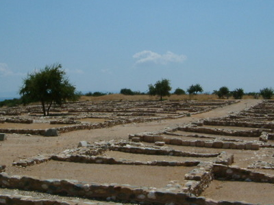 Ruins Of Ancient Olynthus