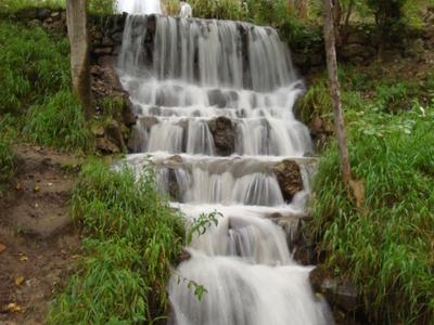 Artificial Waterfall Near Arslanbob