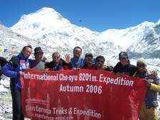 Banner Of Cho Oyu Autumn 2006