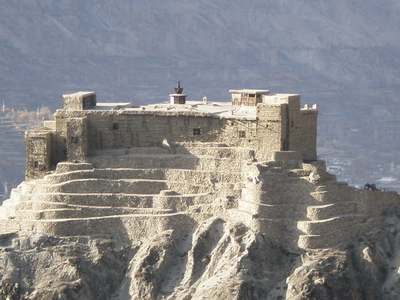Baltit  Fort  East  Elevation