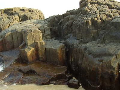 Basaltic Rock Formation In St Mary's Island