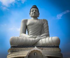 Buddha Statue At Amaravati