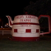 The Chester Teapot At Night
