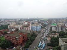 A Sky View Of Farmgate To Bijoy Sarani