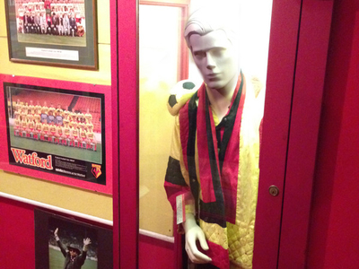 A Watford FC-inspired Stage Costume Worn By Elton John