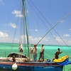 Fishing Off The Coast Of Ambergris Caye