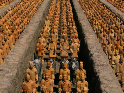Terracotta Army Reproduction In One-Third Scale