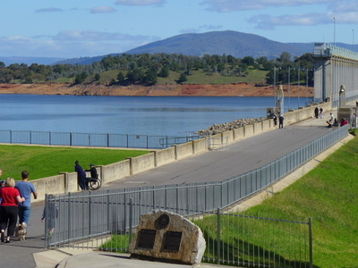 The Dam's Easy Accessibility Makes It A Popular Place To Visit