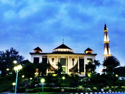 Al Kautsar Mosque In Bontang